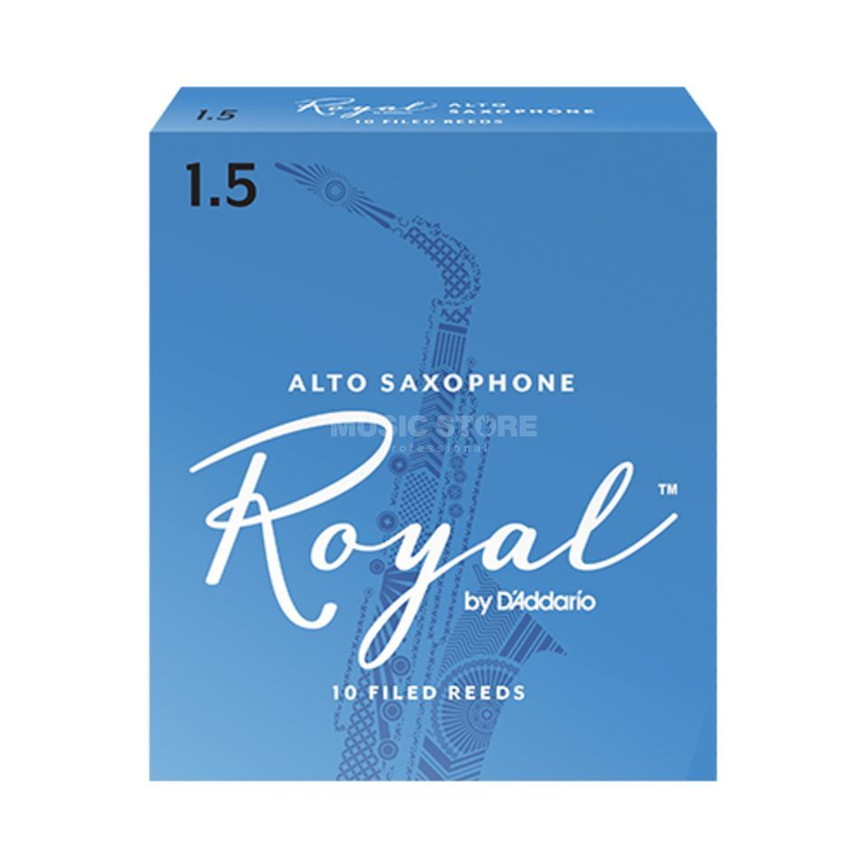 D'Addario Woodwinds ROYAL 1,5 Altsax Produktbild
