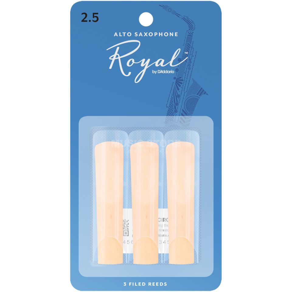 D'Addario Woodwinds ROYAL Altsax 2,5 3er Pack Produktbild