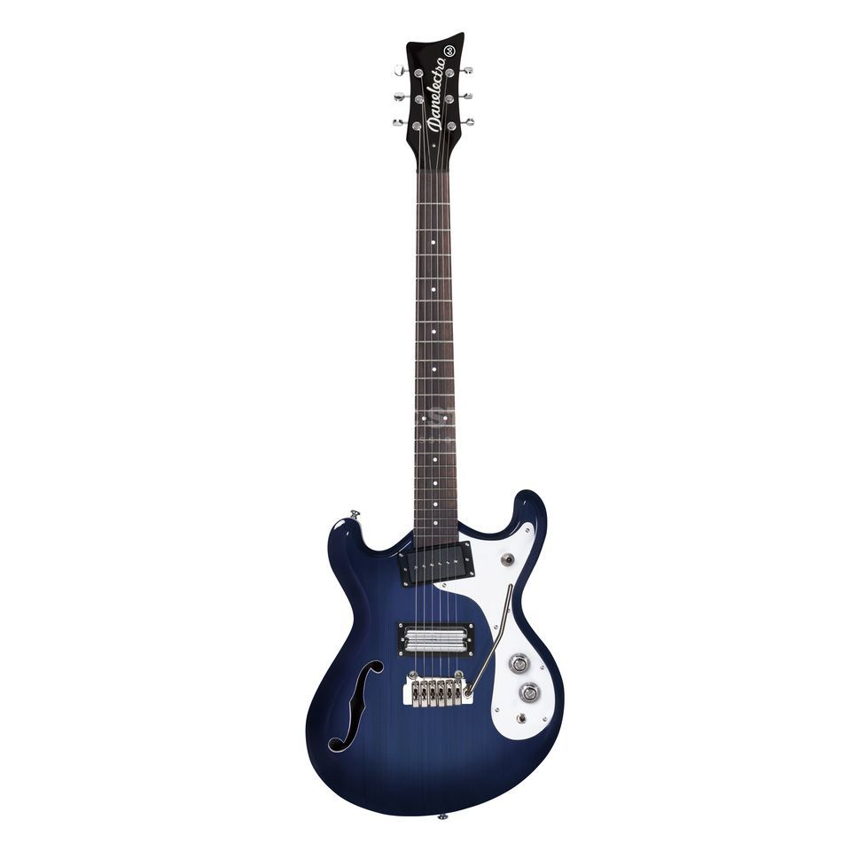 Danelectro 66T Transparent Blue Product Image