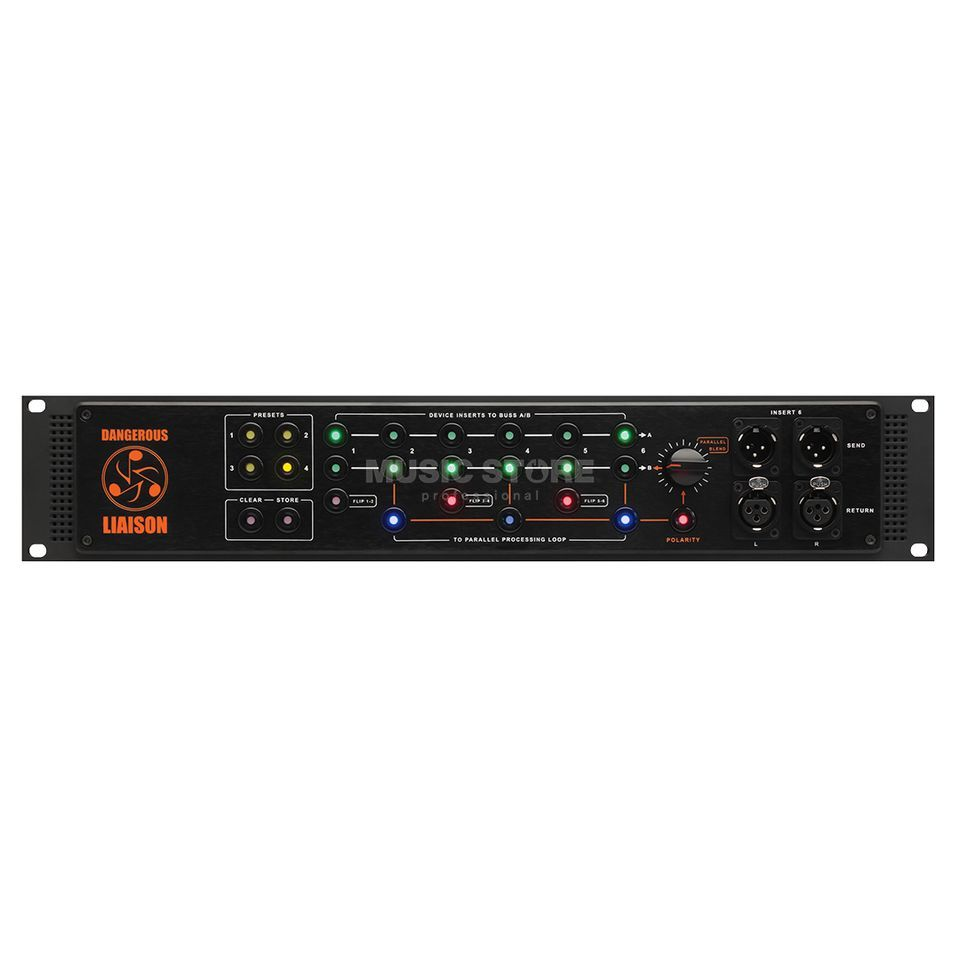 Dangerous Music Liaison 6-Channel Insert Switcher Produktbillede
