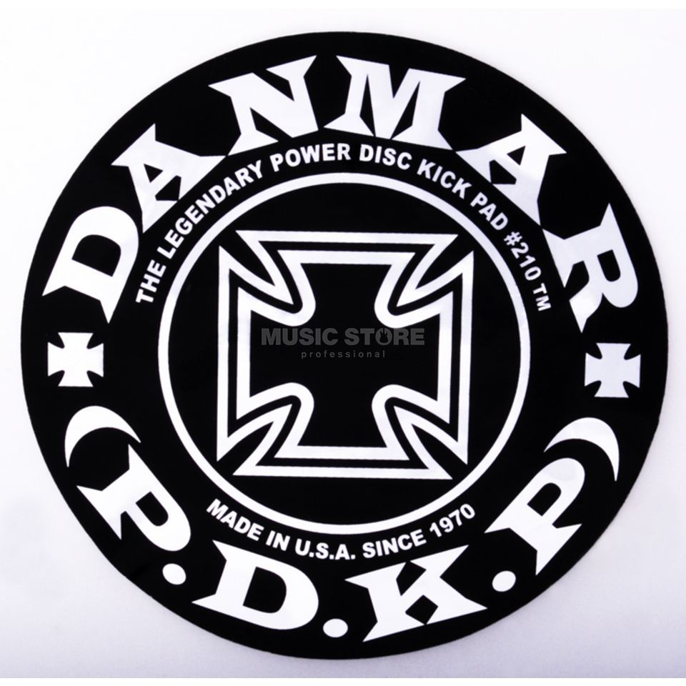 Danmar Drum Zubehör BassDrum Kickpad 210IC, Single Pedal, Iron Cross Product Image