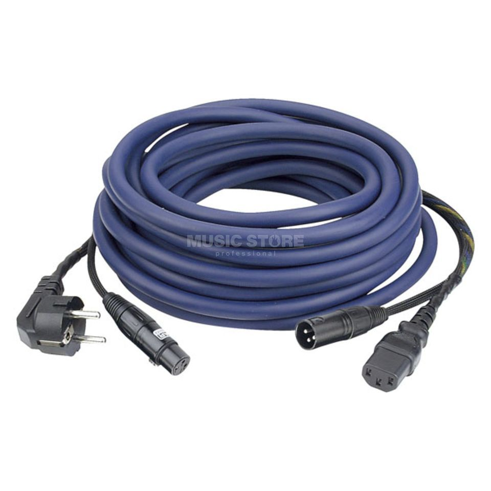 DAP Audio FP08 Power-/SignalCable 20m Schuko-IEC / XLR-XLR, AUDIO Produktbillede