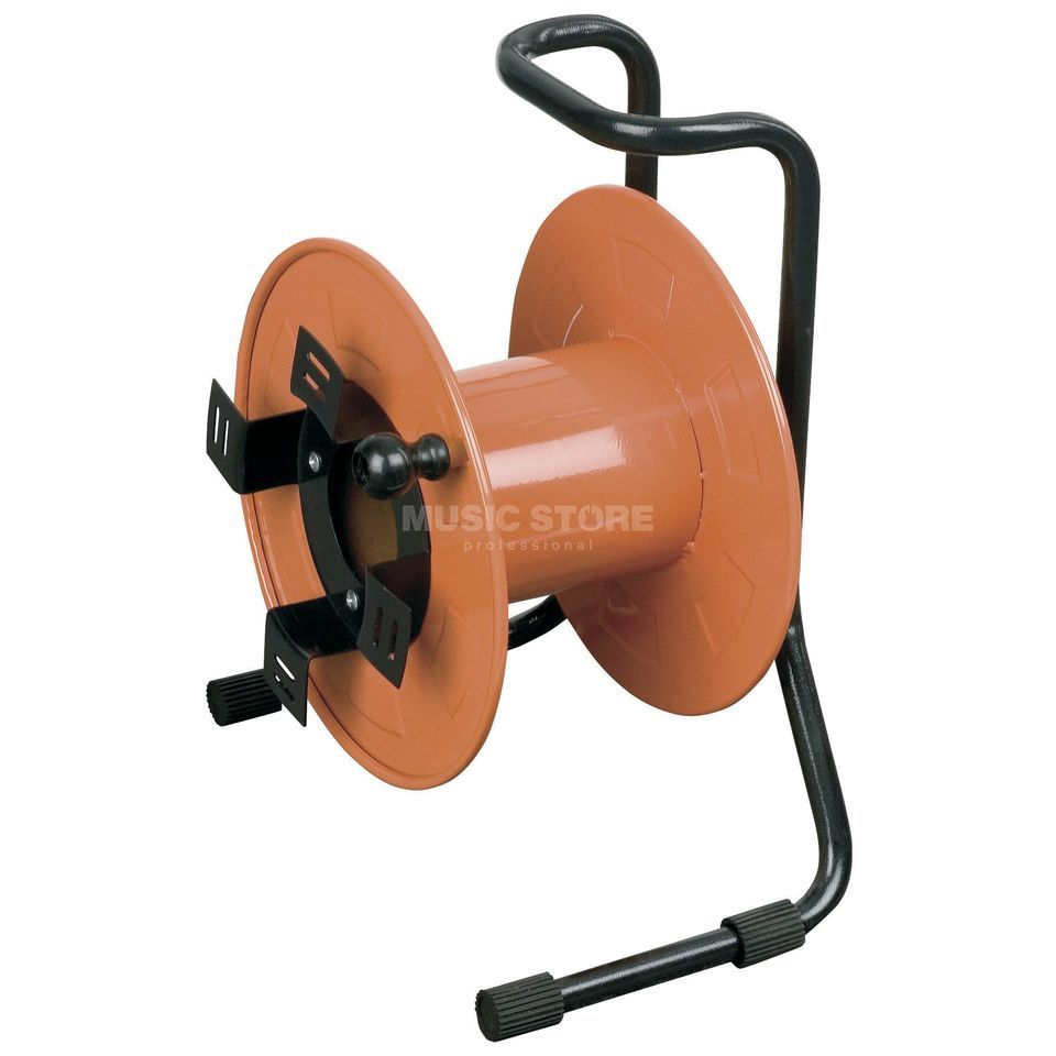 DAP Audio Kabeltrommel 30cm orange  Produktbild