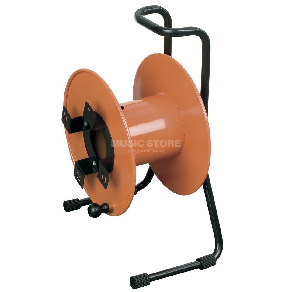 DAP Audio Kabeltrommel 35cm orange  Produktbild