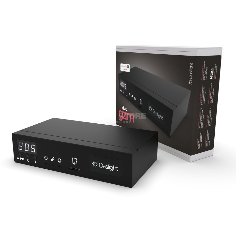 Daslight DVC 4 Gold ZM 1536/3072 Kanal DMX Interface Produktbild
