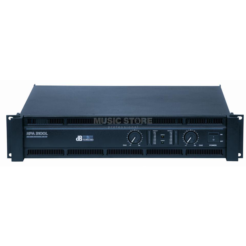 db technologies hpa 3100l ampli 2x 1200 watts 4 ohms. Black Bedroom Furniture Sets. Home Design Ideas