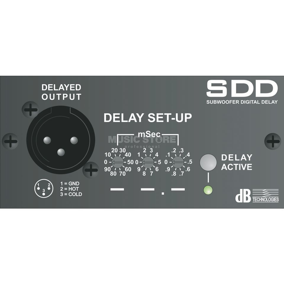 dB Technologies SDD-Module Delay-Card for DVA S10/S20 Produktbillede
