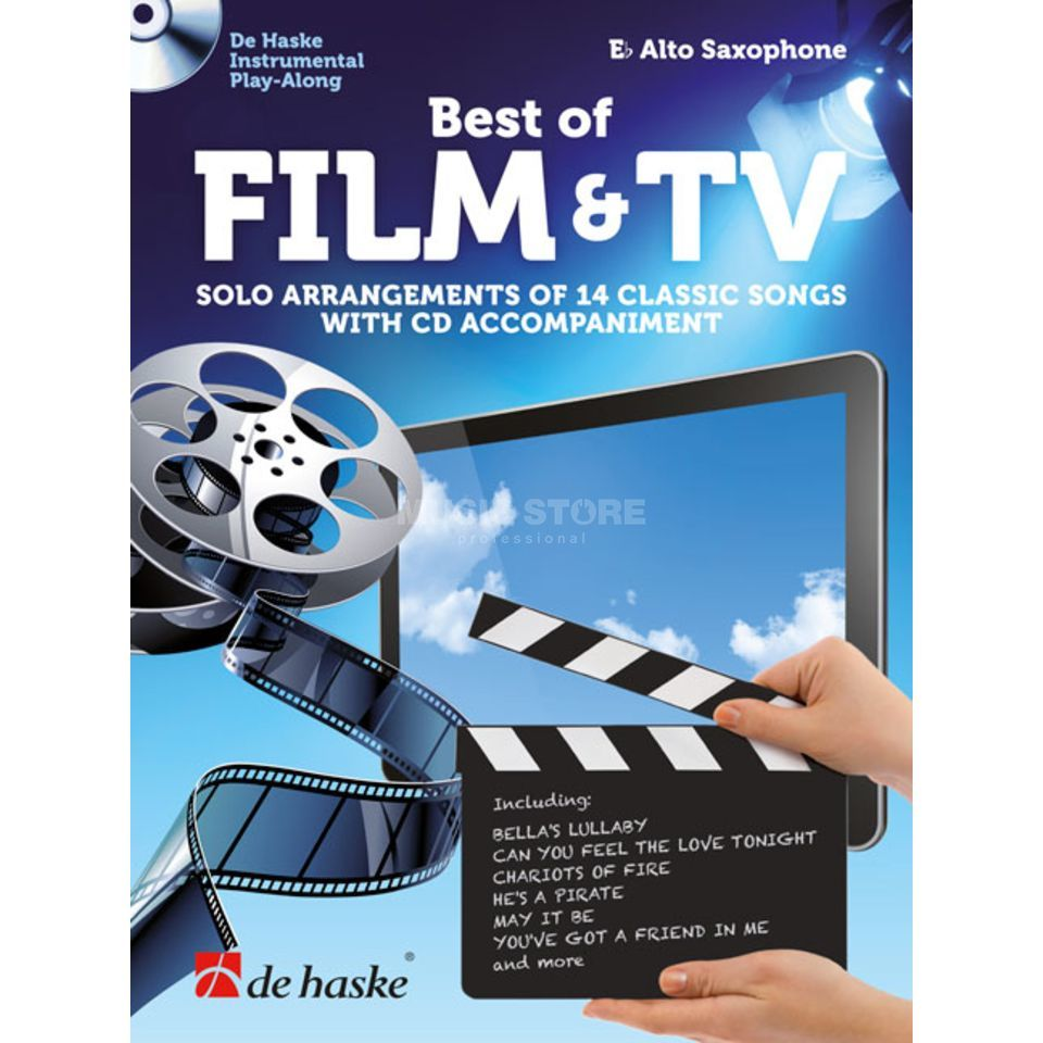 De Haske Best of Film & TV Altsaxophon Produktbild
