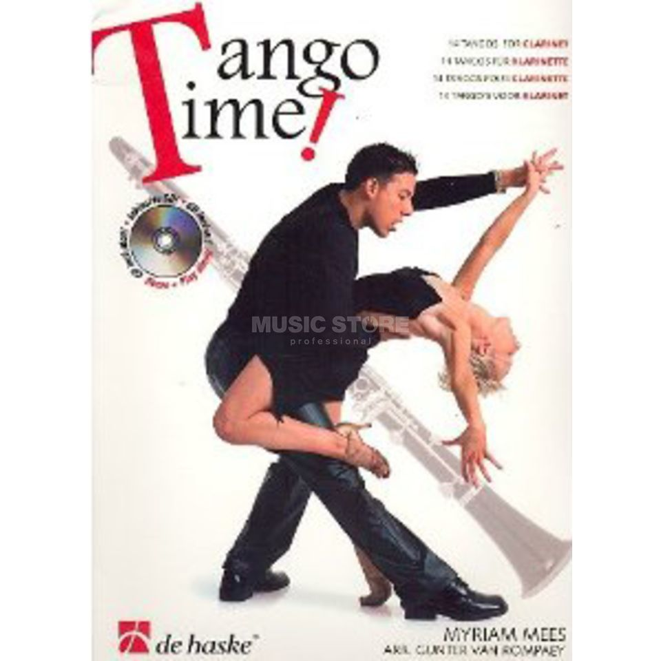 De Haske Tango Time! Bb-Klarinette & CD Produktbillede