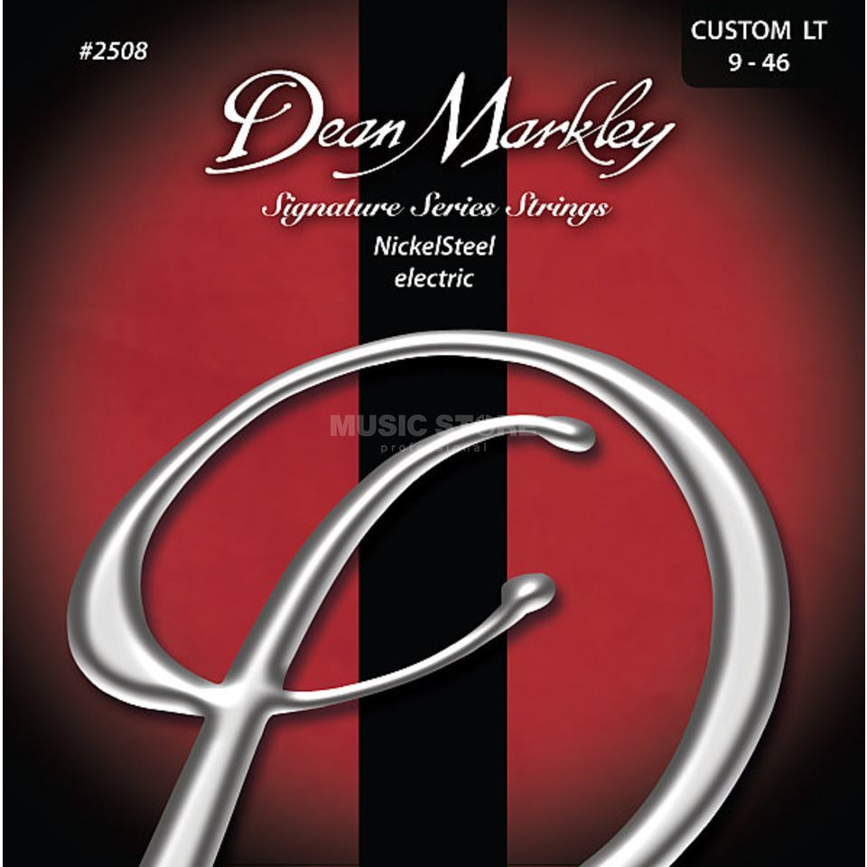 Dean Markley Cordes guitare électrique, 09-46,CustomLight Nickel acier Image du produit