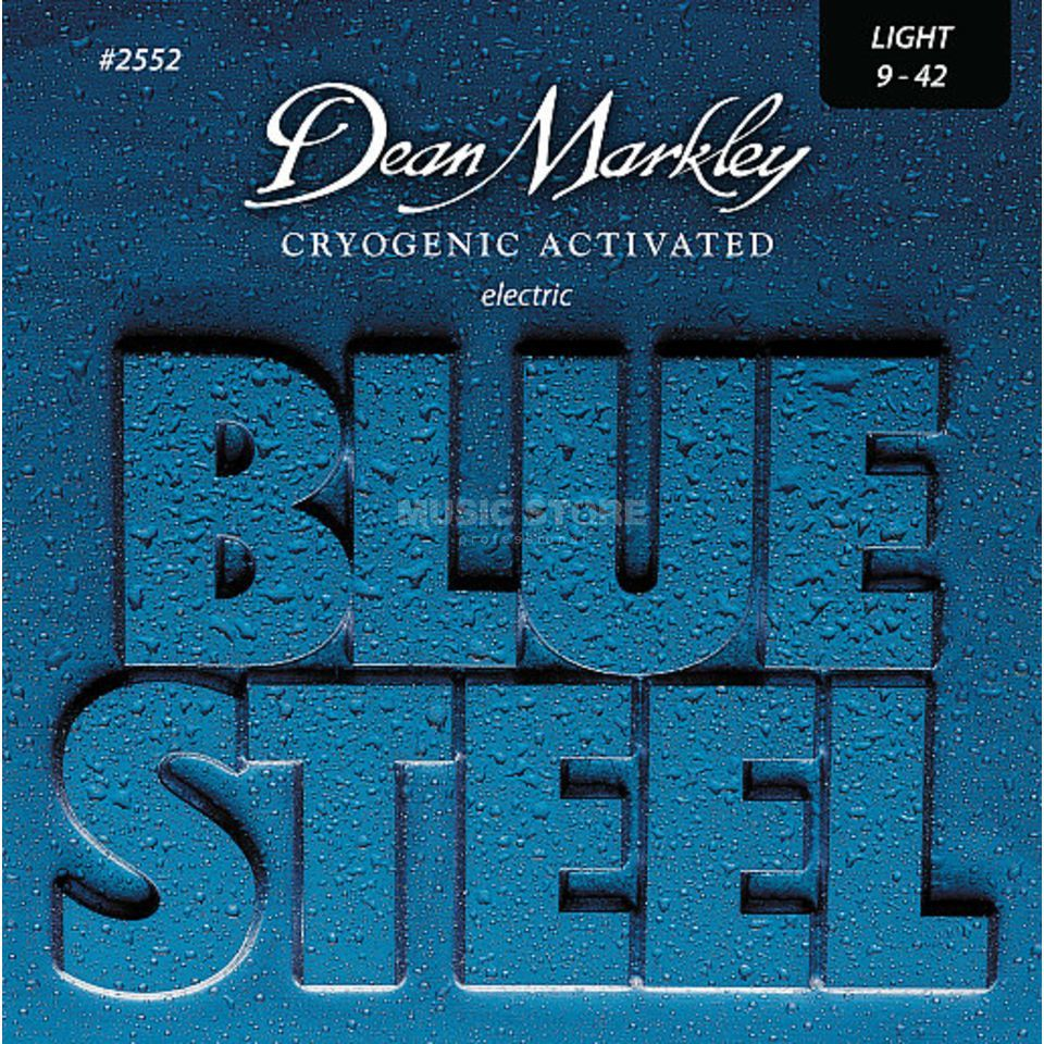 Dean Markley E-Guit. Strings 09-42 2552 LT Blue Steel Product Image
