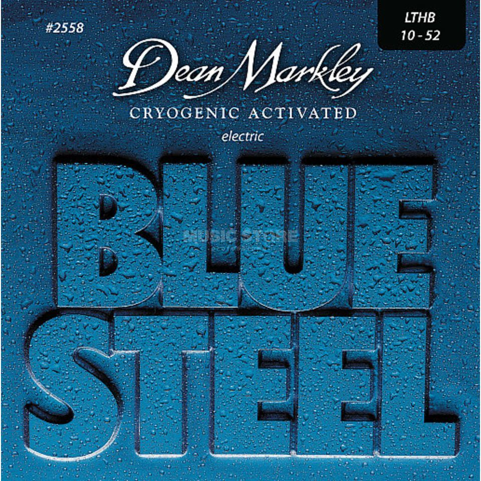 Dean Markley E-Guit.Strings 10-52 2558 LTHB Blue Steel Produktbillede
