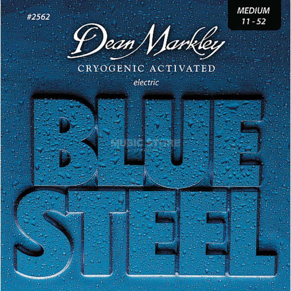 Dean Markley E-Guit. Strings 11-52 2562 MED Blue Steel Produktbillede