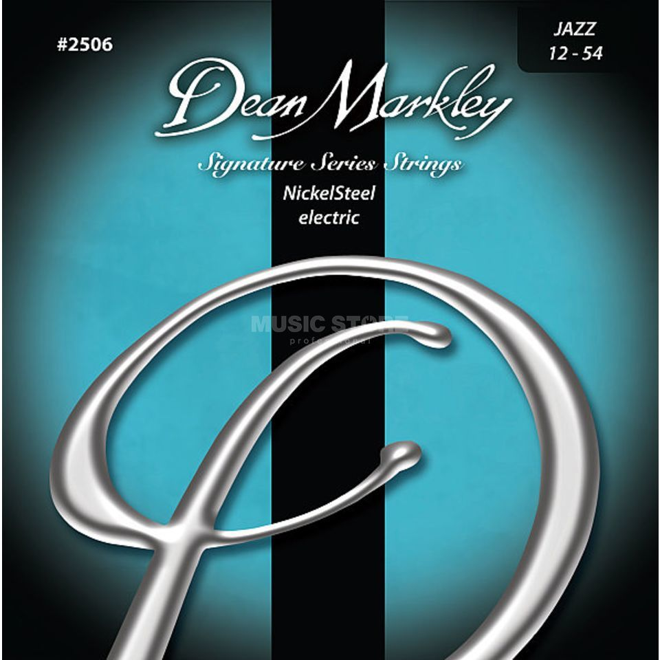 Dean Markley E-Guit. Strings, 12-54, Jazz, Nickel Steel Produktbillede