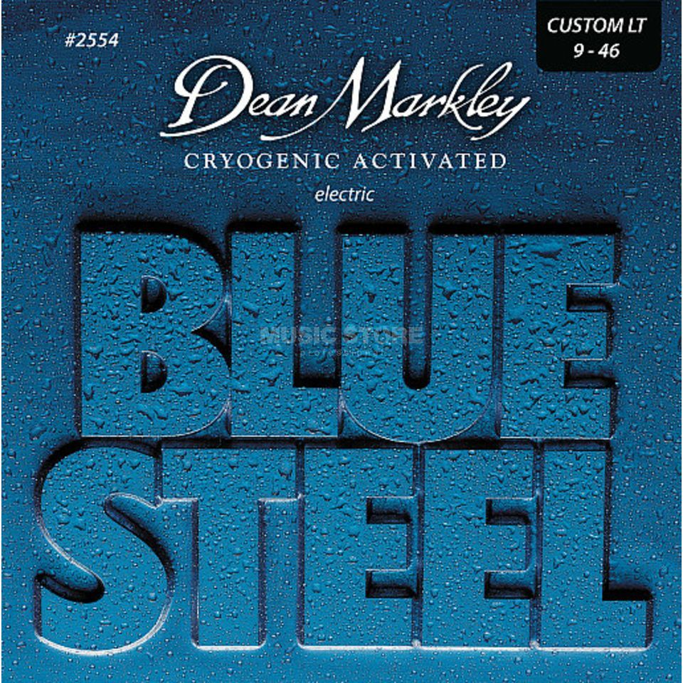 Dean Markley E-Guitar Strings 09-46 2554 CL Blue Steel Produktbillede