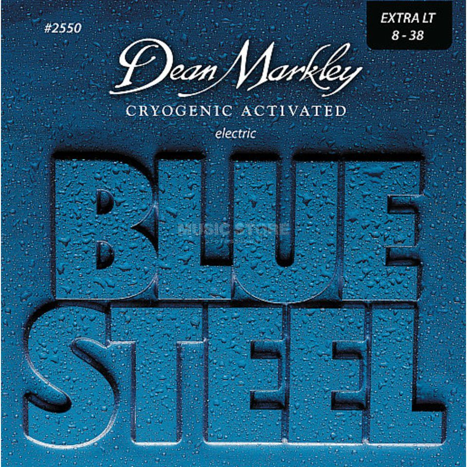 Dean Markley E-Guitar Strings08-38 2550 XL Blue Steel Produktbillede
