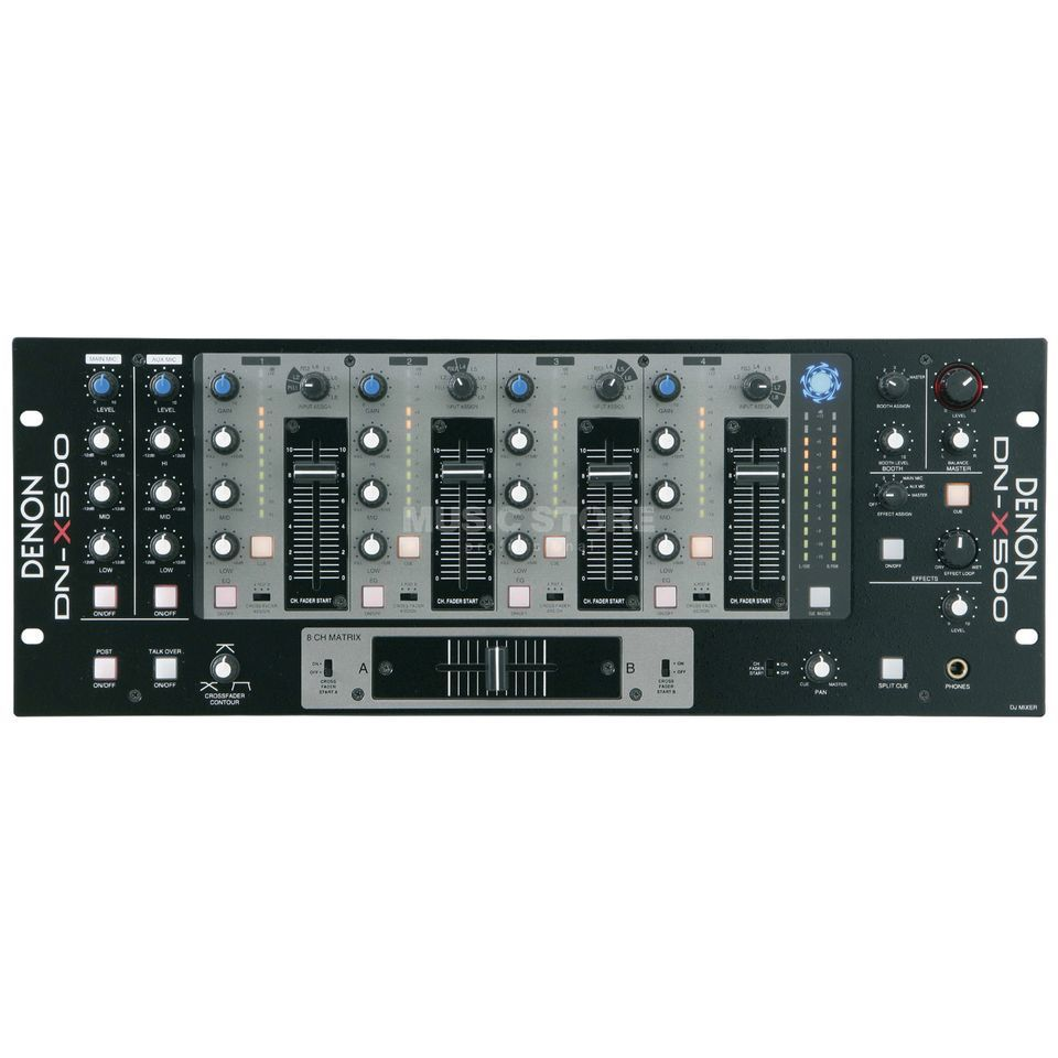 "Denon DJ DN-X500 19"" Rack Mountable Mixer Product Image"