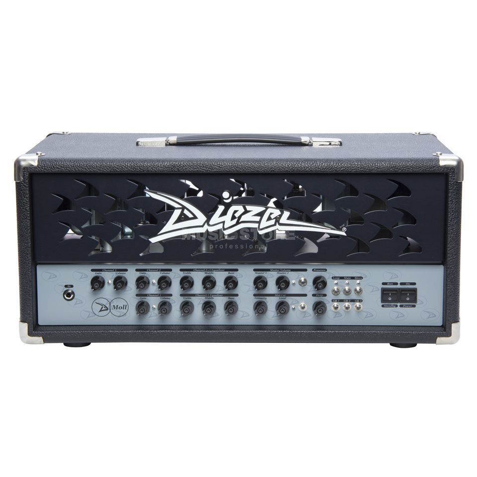 Diezel Amplification D-Moll 100 Head Classic Design Produktbillede