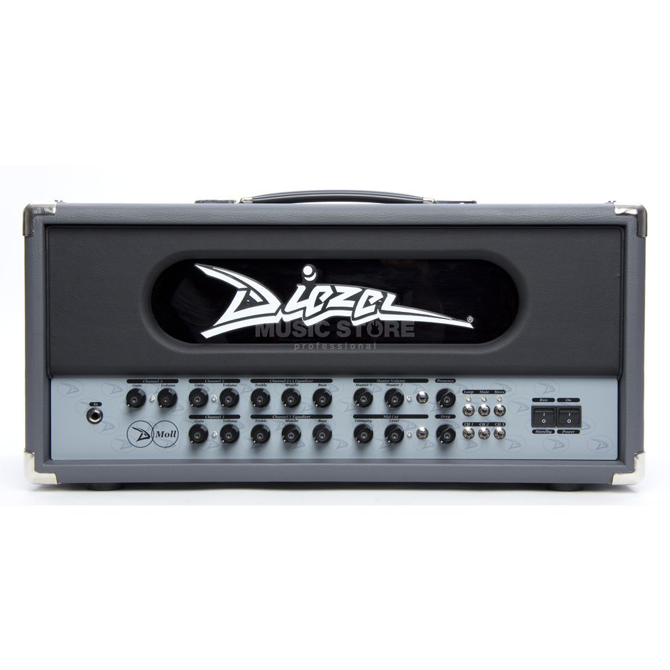 Diezel Amplification D-Moll Standard Head Produktbild