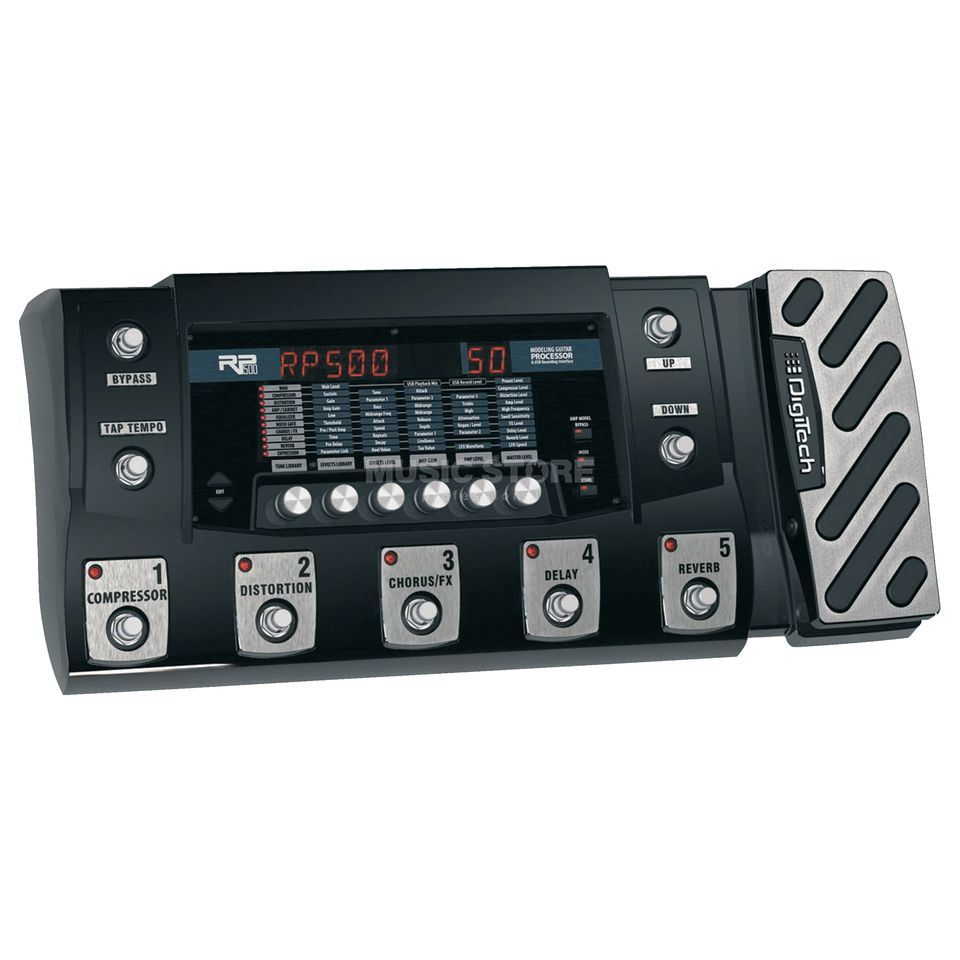 DigiTech RP500 Guitar Multi Effects Ped al   Produktbillede