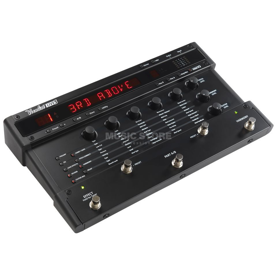 DigiTech Vocalist Live 5 Vocal Harmony/Effect Processor Produktbild