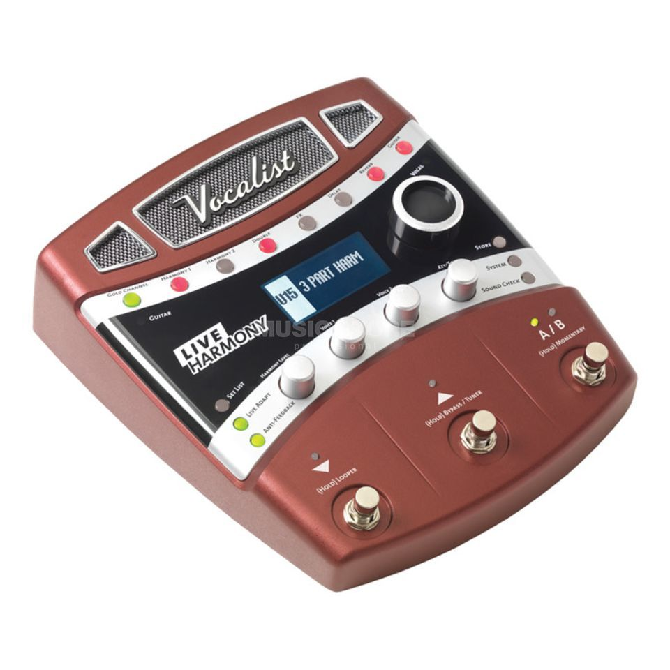 DigiTech Vocalist Live Harmony Vocal Harmony/Effect Processor Produktbillede