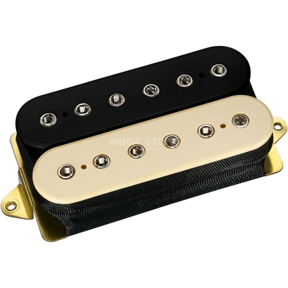 DiMarzio DP100 BC Super Distortion Zebra Bridge Produktbillede