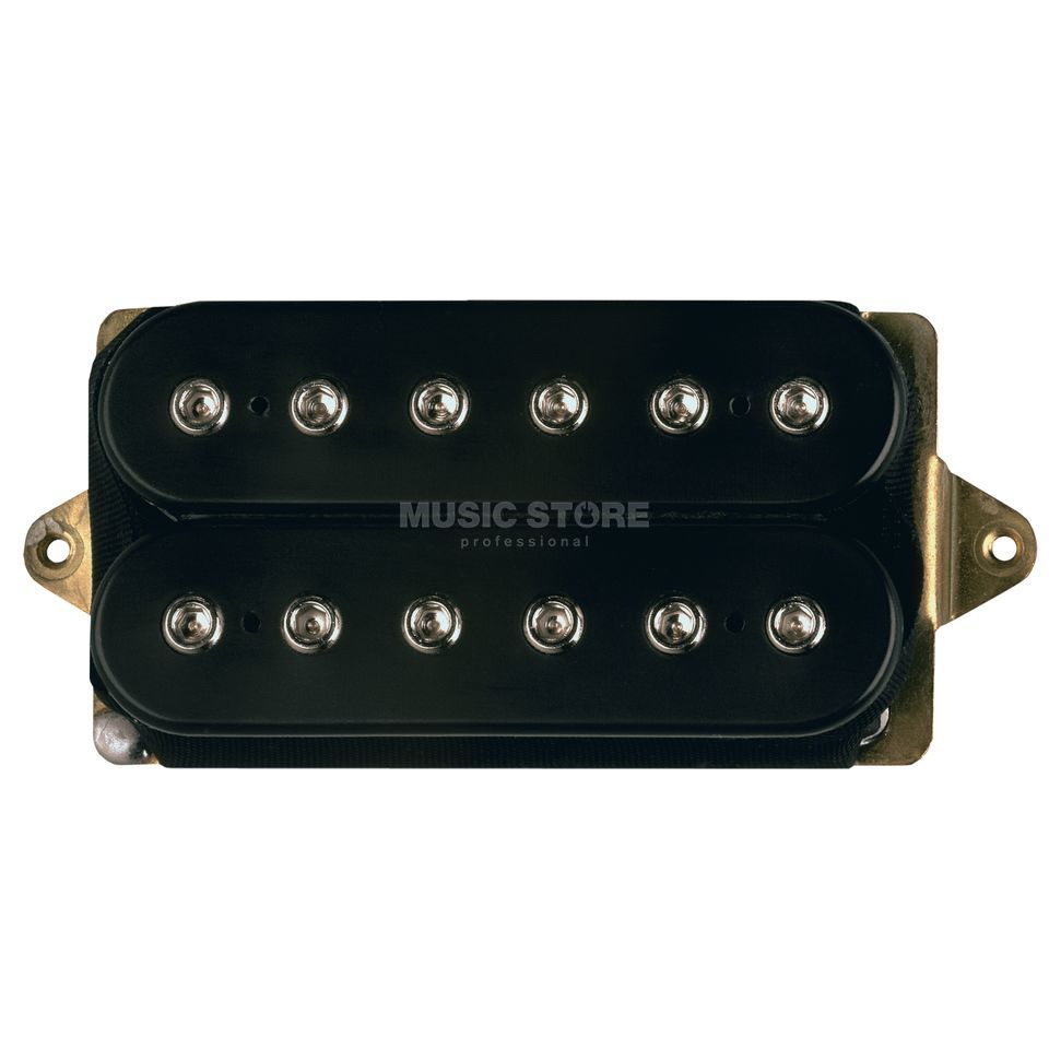 DiMarzio DP213F BK PAF Joe F- Spaced Neck/ Bridge Humbucker, Black Produktbild