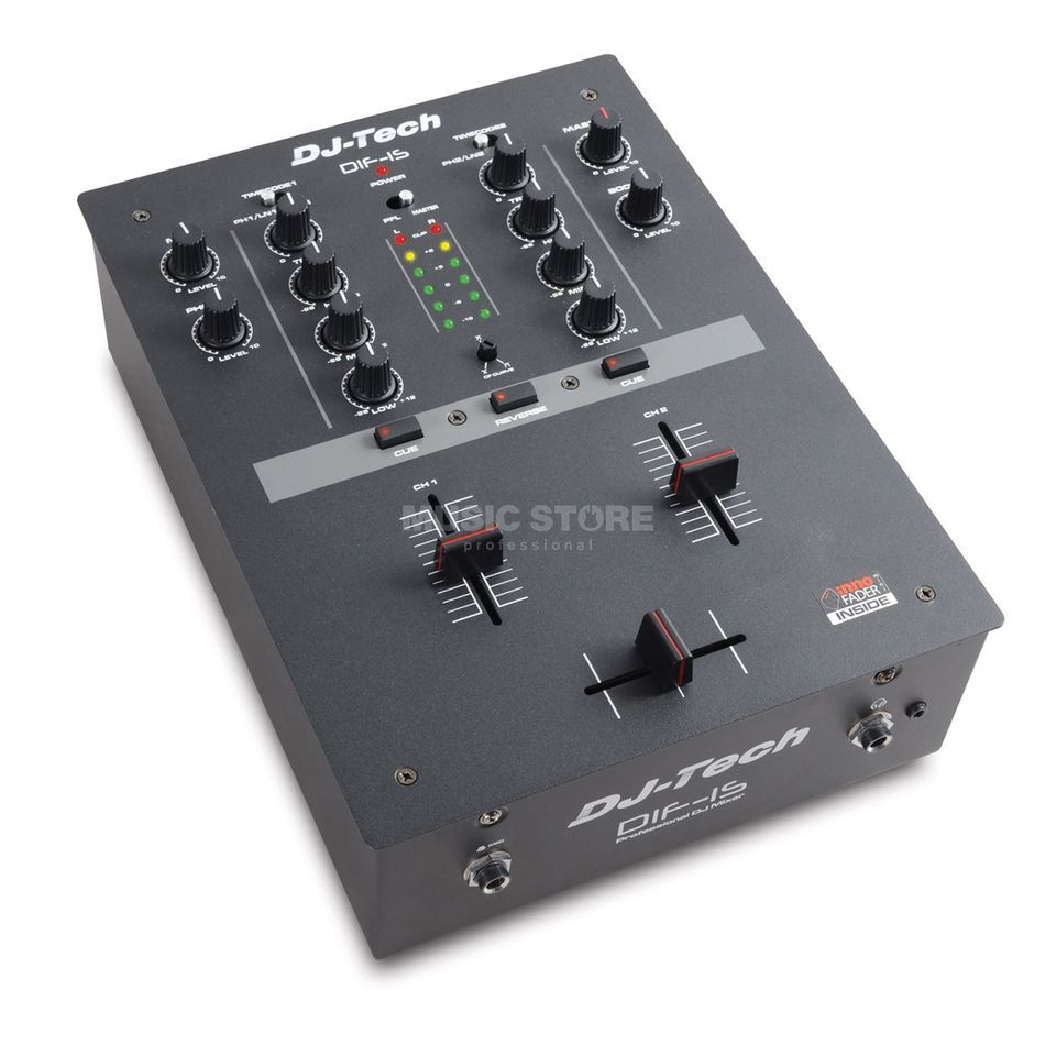 DJ-TECH DIF-1S 2-Channel DJ-Mixer with INNOfader Zdjęcie produktu