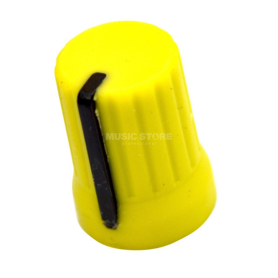 DJ TECHTOOLS Chroma Caps 90° Knobs yellow for Allen & Heath and Pioneer Produktbild