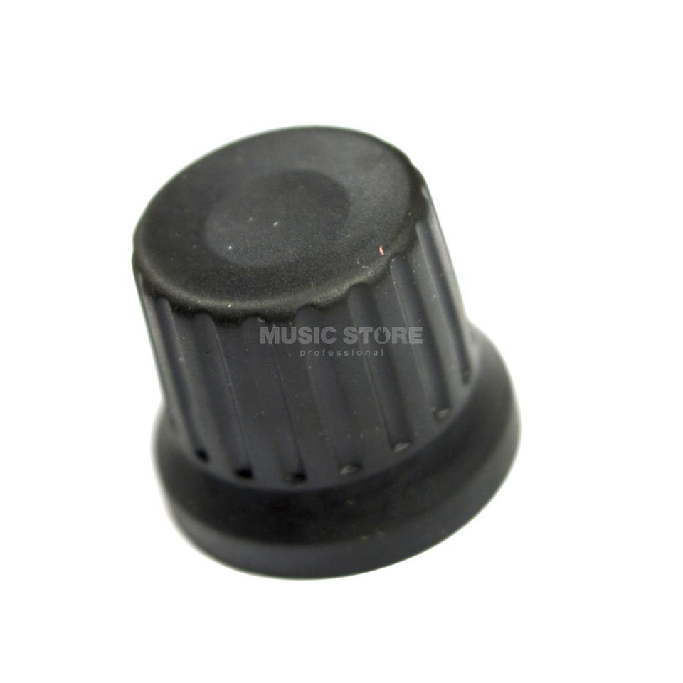 DJ TECHTOOLS Chroma Caps Encoder Knob black Produktbild