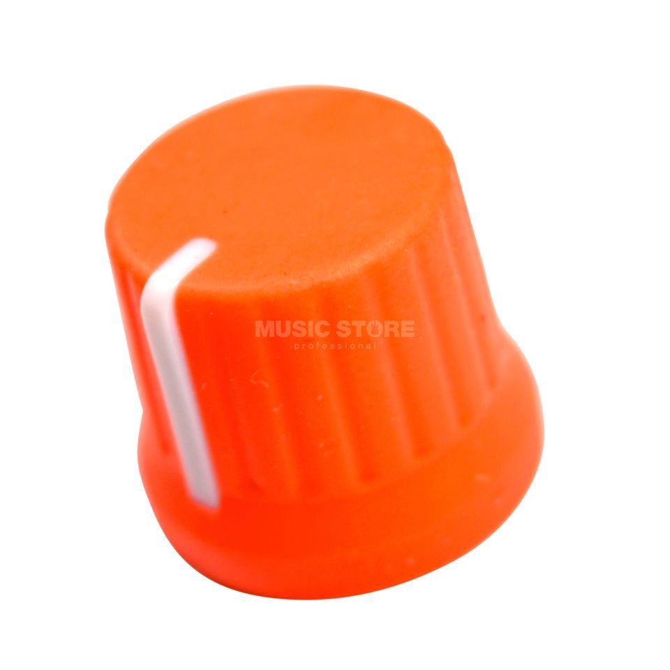 DJ TECHTOOLS Chroma Caps Fatty Knob neon orange Product Image