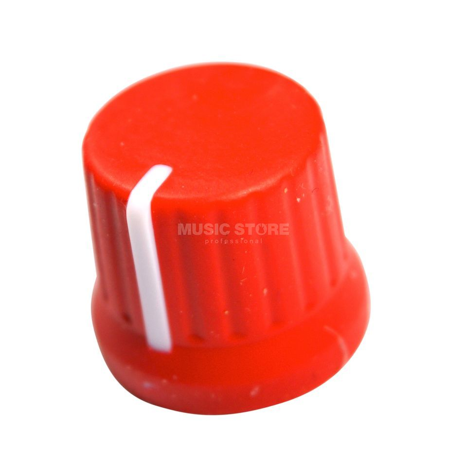 DJ TECHTOOLS Chroma Caps Fatty Knob red  Product Image