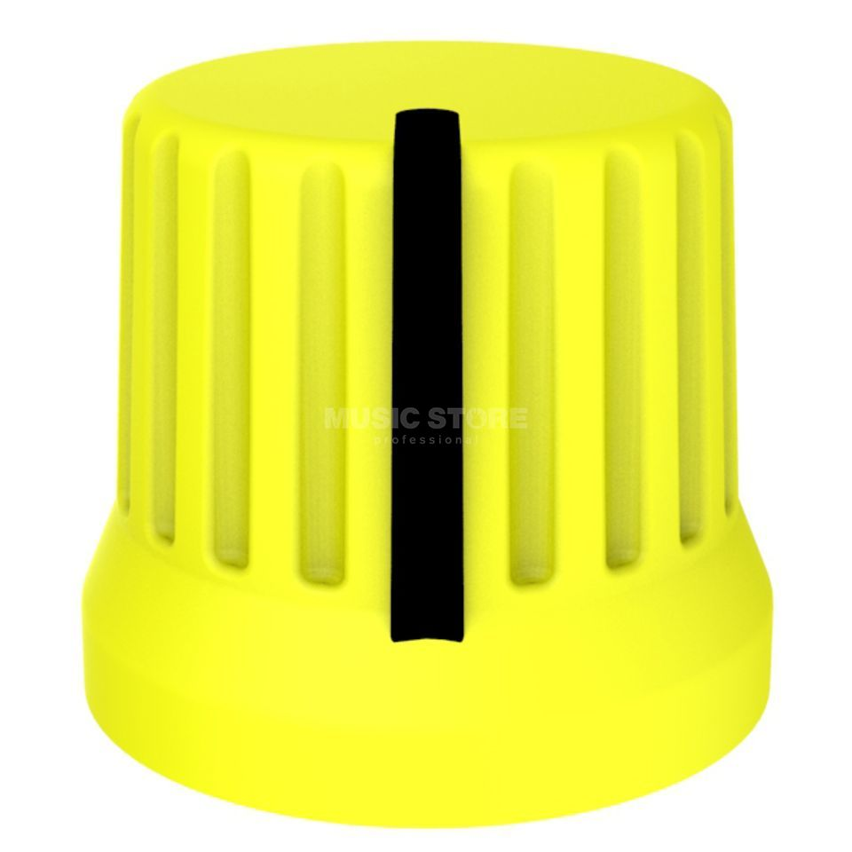 DJ TECHTOOLS Chroma Caps Fatty Knob yellow  Zdjęcie produktu