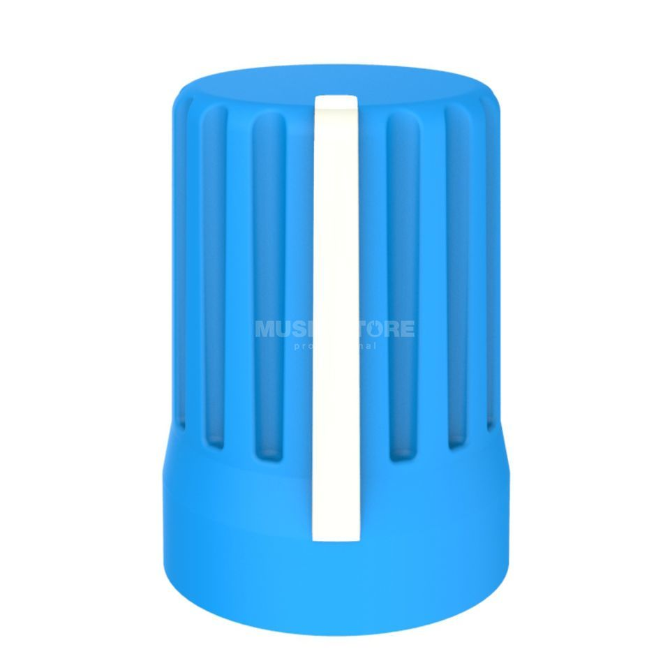 DJ TECHTOOLS Chroma Caps Superknob blue  Product Image