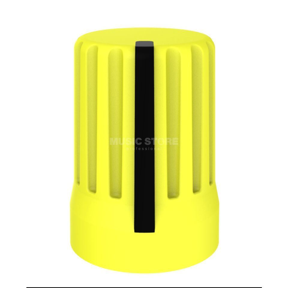 DJ TECHTOOLS Chroma Caps Superknop yellow  Productafbeelding