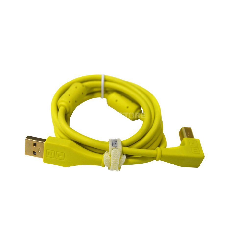 DJ TECHTOOLS DJTT USB Chroma Cable Green 1.5m, angled Product Image