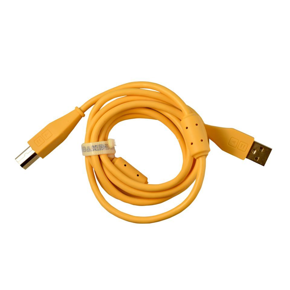 DJ TECHTOOLS DJTT USB Chroma Cable Orange 1.5m, straight Produktbillede