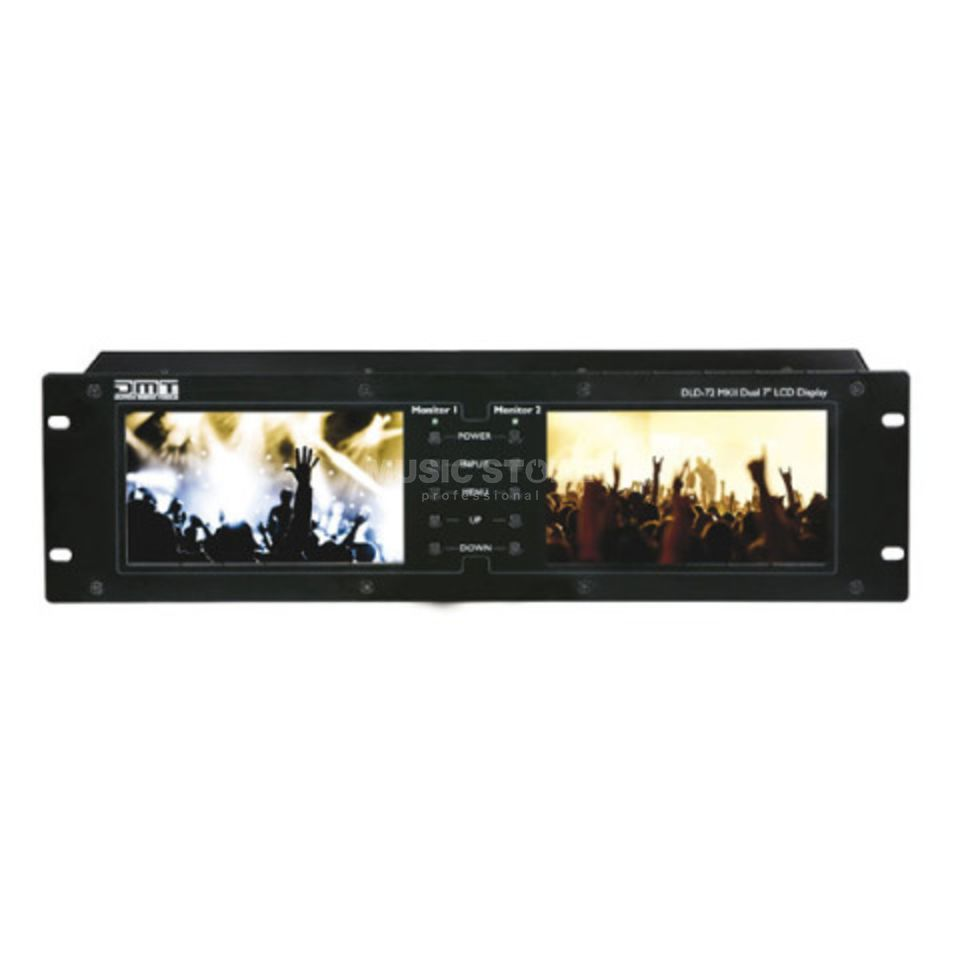 "DMT DLD-72 MKII Dual 7"" Display with HDMI link Produktbild"