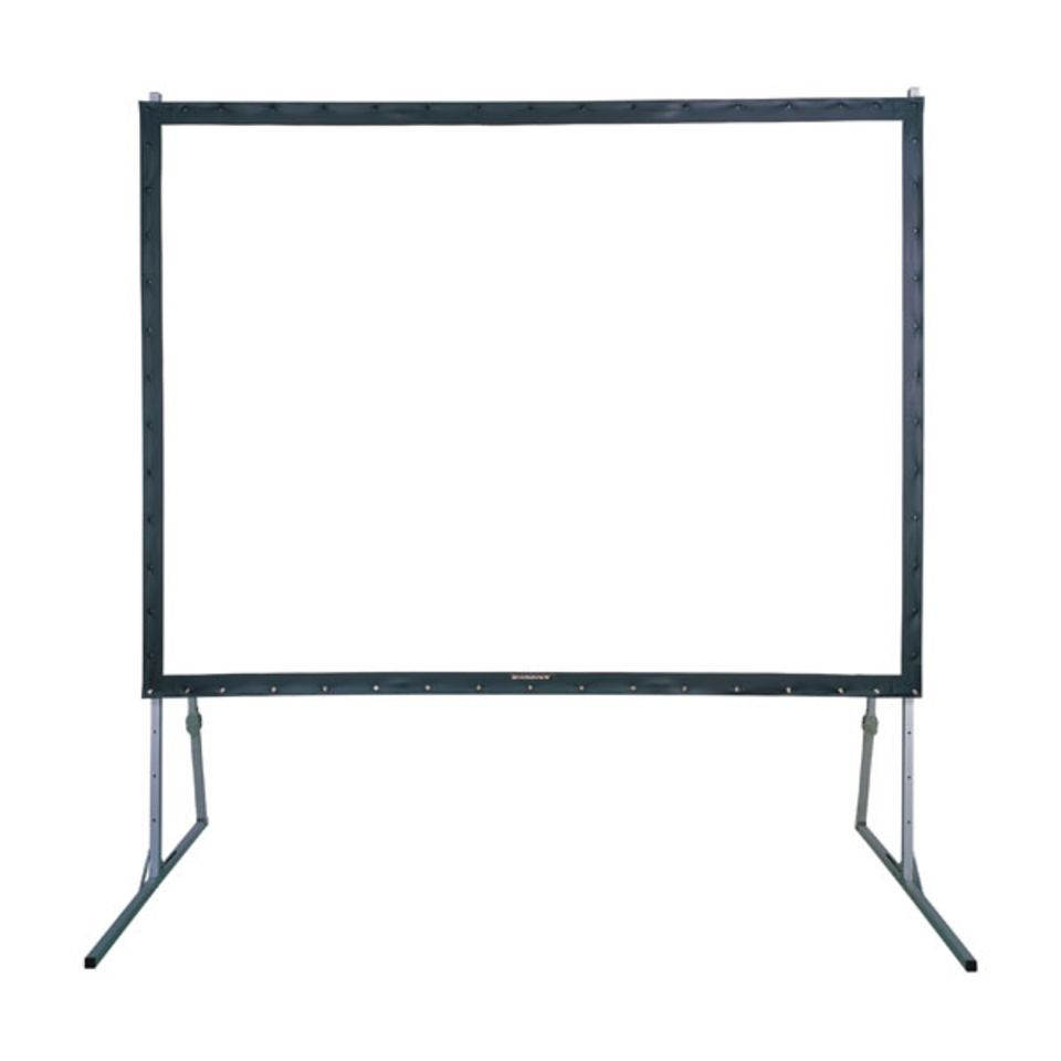 DMT Frame Projector Screen 203x152 cm Fast-Fold incl. Transport Case Produktbillede