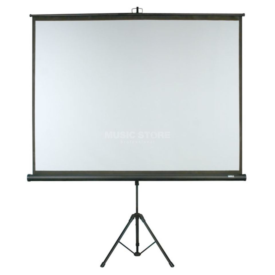dmt tripod screen 84 leinwand auf einem tripod music store professional. Black Bedroom Furniture Sets. Home Design Ideas