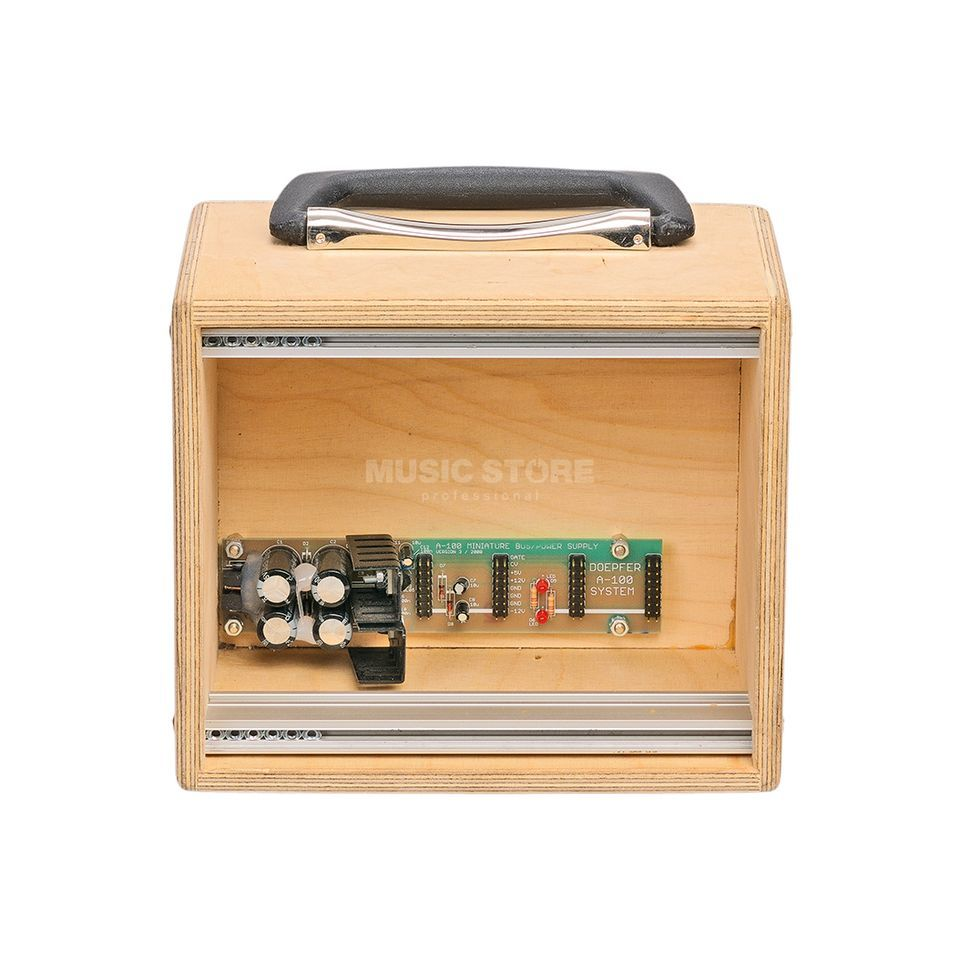 Doepfer A-100MC Mini Case raw with power supply Produktbillede