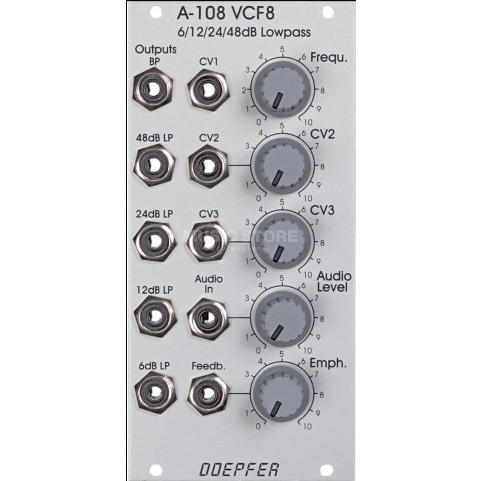 Doepfer A-108 6/12/24/48 dB Low Pass Filter Produktbillede