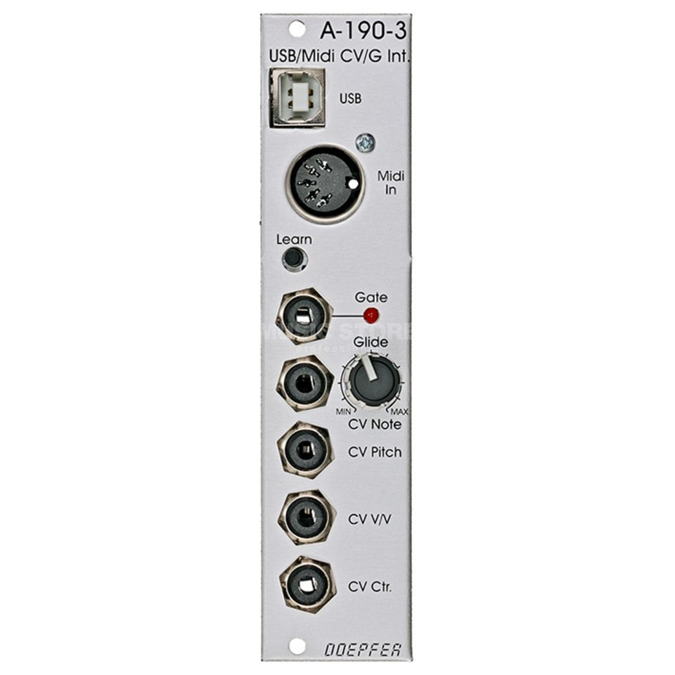 Doepfer A-190-3 USB MIDI-to-CV/Gate Interface Produktbillede