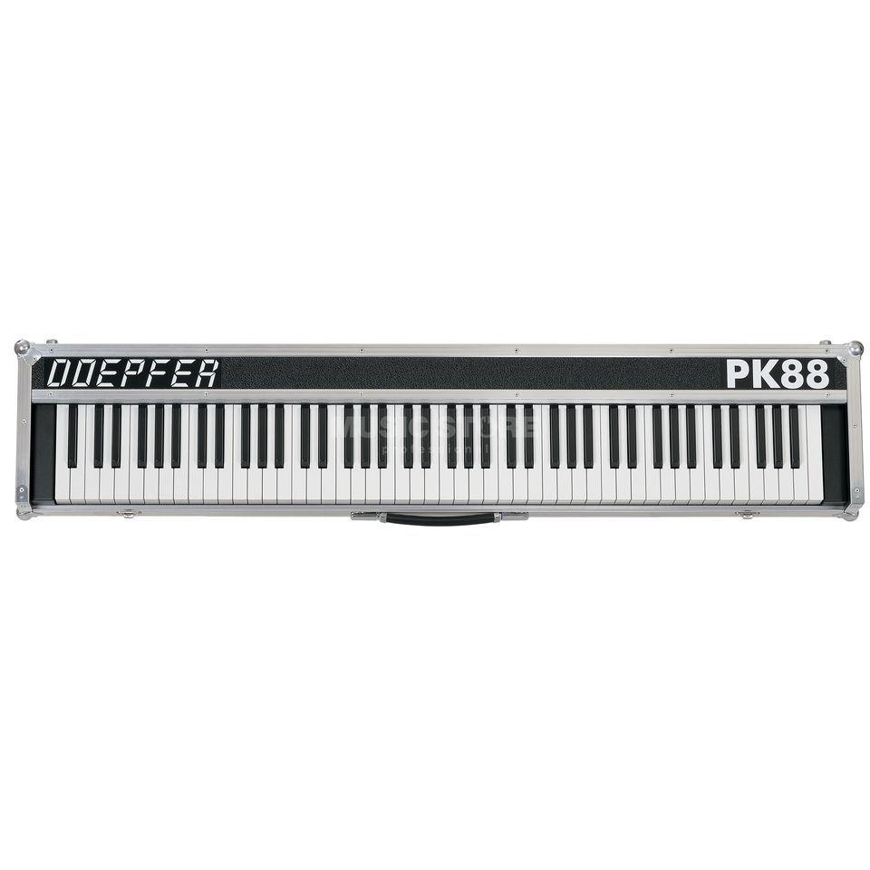 Doepfer PK88 - 88 GH USB Midi Keyboard incl. Power Adapter (88 keys) Produktbillede