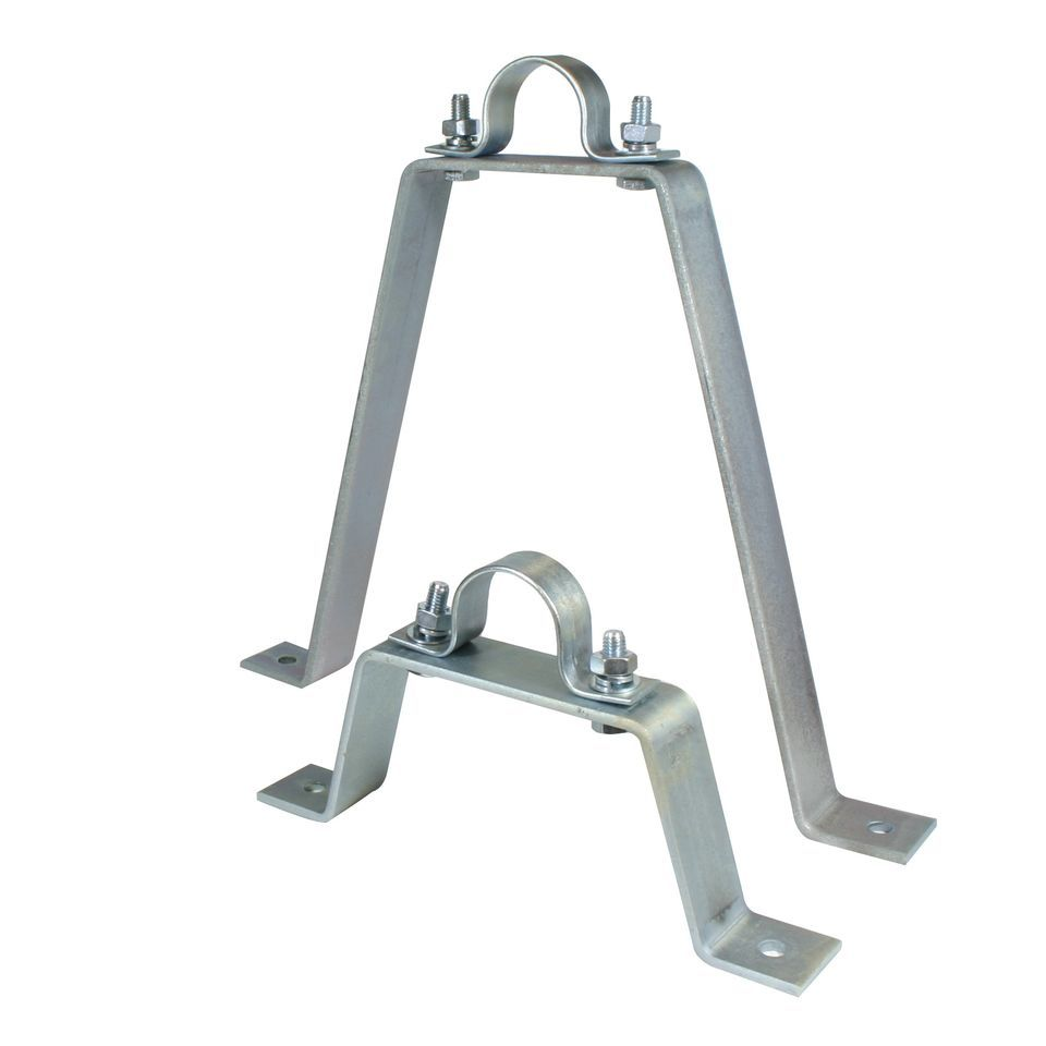 Doughty T33300 PIPE TO WALL BRACKET 300mm Stand off Produktbild