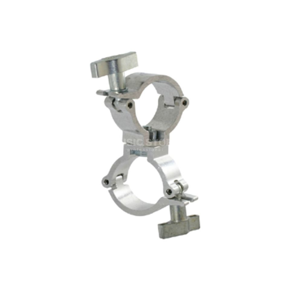 Doughty T58123 Swivel Coupler silver super lightweight, TÜV Produktbillede