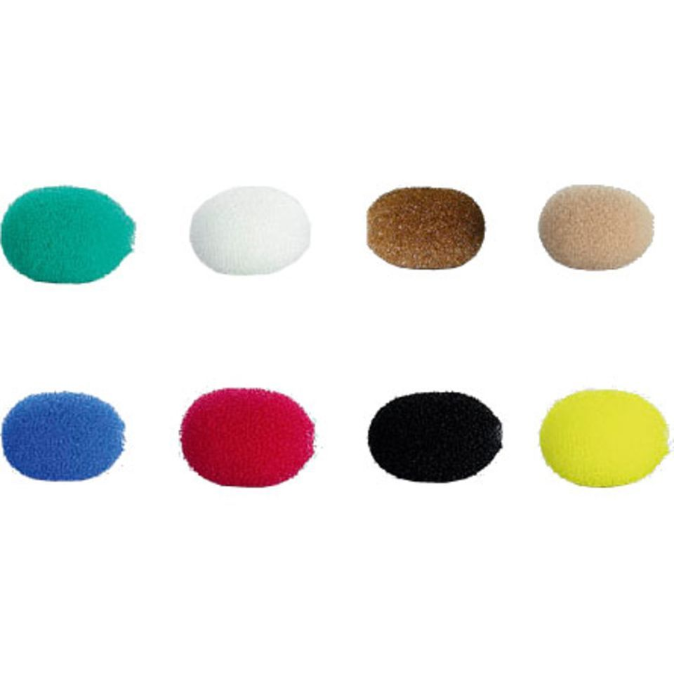 DPA DUA0570 Miniature Windscreens 8 Pieces, Colour Mix Produktbillede