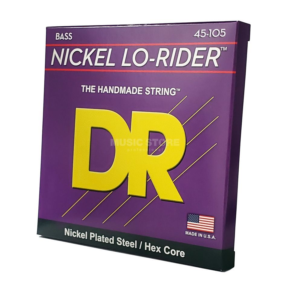 DR 4er bas 45-105 Lo Rider nikkel Plated Steel NMH-45 Productafbeelding