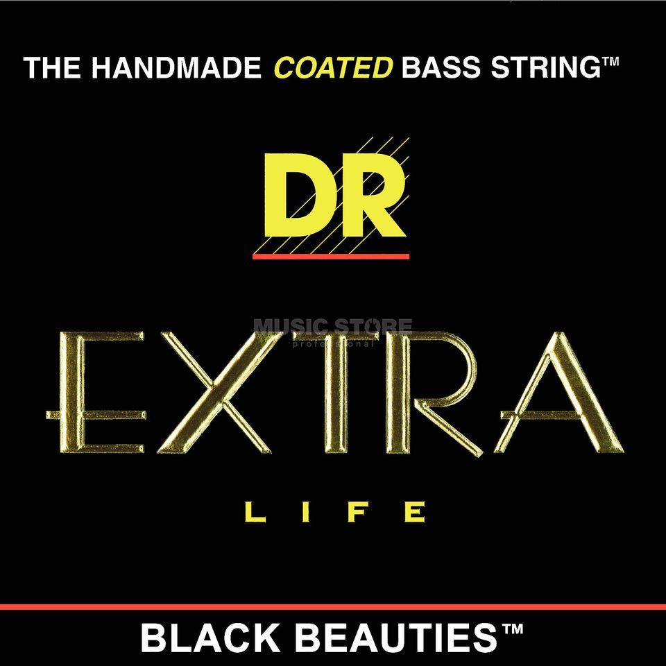 DR Bass Strings Set of 4: 50-110 Extra-Life Black Beauties BKBT-50 Product Image